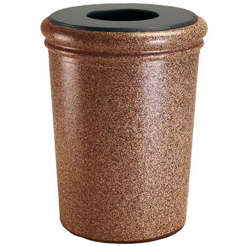 50-Gallon StoneTec Waste Container