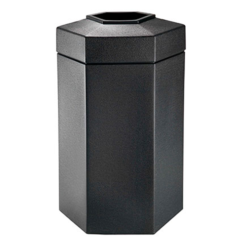 50-Gallon Hex Waste Container