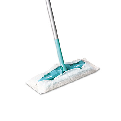 "Swiffer Sweeper Sweeper Mop, 10"" Wide Mop, Green"