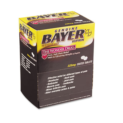 Bayer Aspirin Tablets, Two-Pack