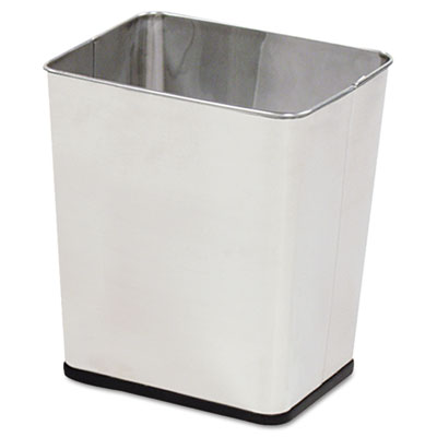 Rubbermaid Commercial Wastebasket, Rectangular,