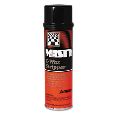 Misty X-Wax Floor Stripper, 20 oz. Aerosol