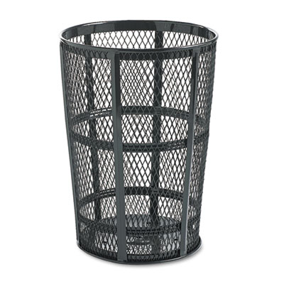 Rubbermaid Commercial Steel Street Basket Waste