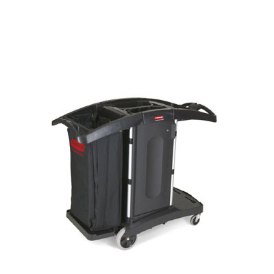 Rubbermaid Commercial Compact Folding Housekeeping Cart,