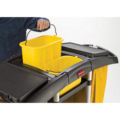 Rubbermaid Commercial Bi-Bag Waste-Collection Cleaning