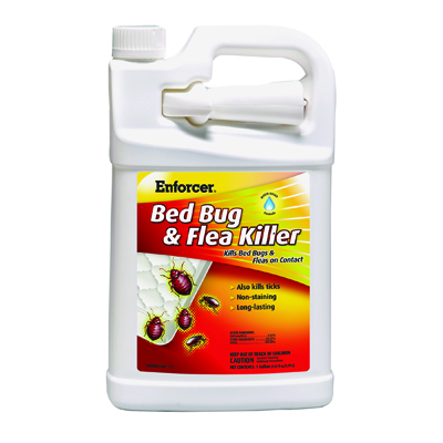 Enforcer Bed Bug & Flea Killer, 1 gal Bottle, For Bed
