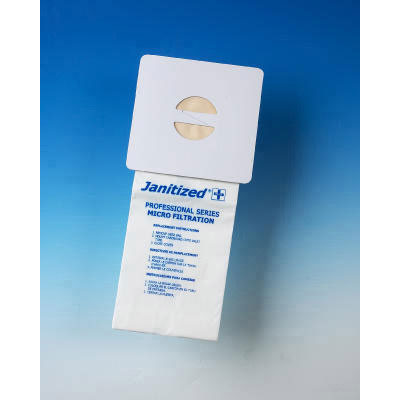 Janitized Vacuum Filters, Nobles Portapac Strap-A-Vac,