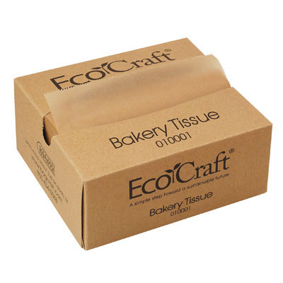 Bagcraft Papercon EcoCraft Interfolded Soy Wax Deli