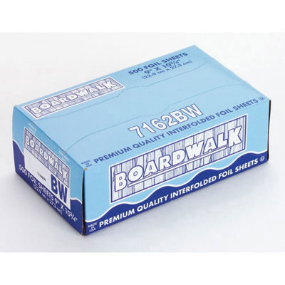 Boardwalk Pop-Up Aluminum Foil Wrap Sheets, 12 x 10