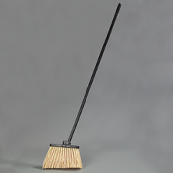 "Hillyard Broom Angle 48"" Unflagged Duo Sweep"