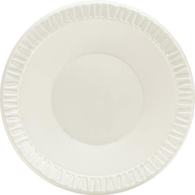Dart Foam Plastic Bowls, 10-12 Ounces, White, Round,