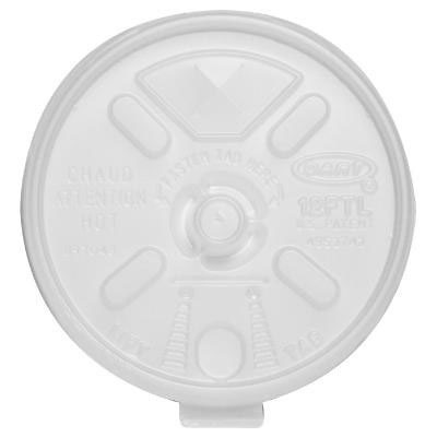Dart Liftn?Lock Lids, Fits 10-14oz Cups, Translucent