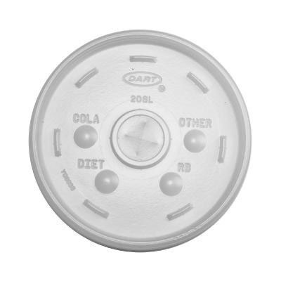 Dart Cold Cup Lids, Fits 32oz Cups, Translucent