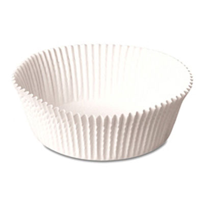 Dixie Paper Fluted Baking Cups, Dry-Waxed, 4-1/2,