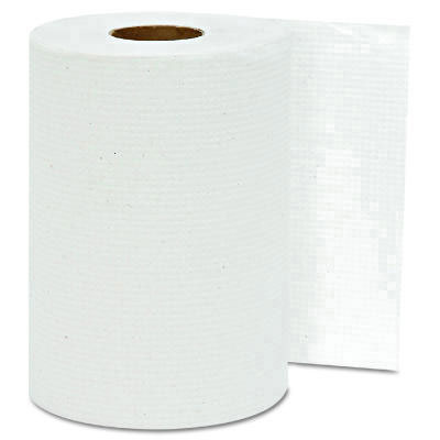 "GEN Hardwound Roll Towels, 8"" x 350 ft, White, 1-Ply"