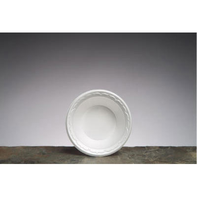 Genpak Elite Laminated Foam Bowls, 12 Ounces, White,