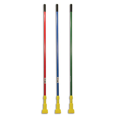 "Rubbermaid Commercial Gripper Fiberglass Mop Handle, 60"","