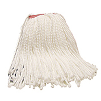 MOP WET MF PEARL 5IN HB LARGE WHITE