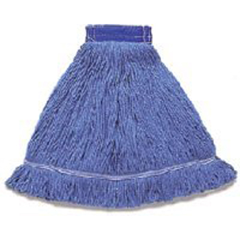 Hillyard Mop Wet Antimic Looped End Wb Med Blu