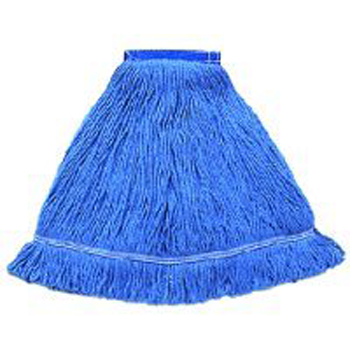 Hillyard Mop Wet Blend Looped End Nb Med Blue