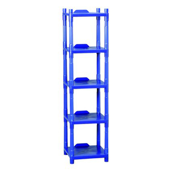 Hillyard Cleaning Center Rack 4 Shelf Blue