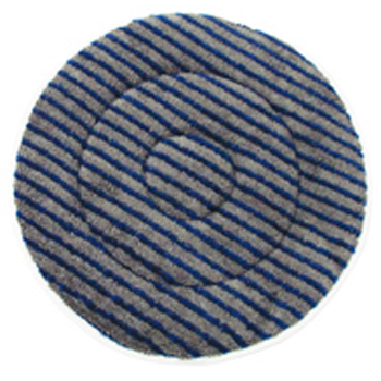 "Hillyard Bonnet Carpet Mf 17"" Gray Blue"