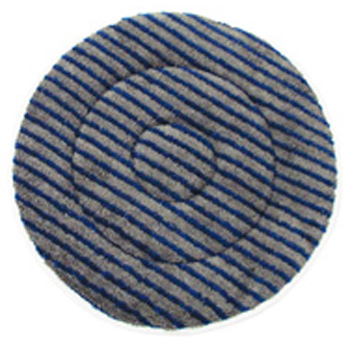 "Hillyard Bonnet Carpet Mf 19"" Gray Blue"