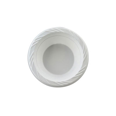 Chinet Plastic Bowls, 12 Ounces, White, Round,