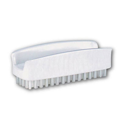 Impact Hand and Nail Brush with Polyethylene Bristles,