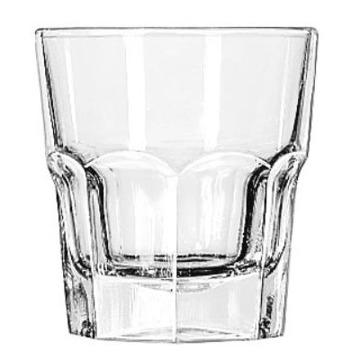 Libbey Gibraltar Rocks Glasses, Tall Rocks, 9oz, 3