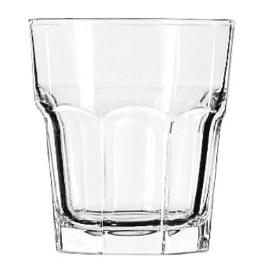 Libbey Gibraltar Rocks Glasses, Double Rocks, 12oz,