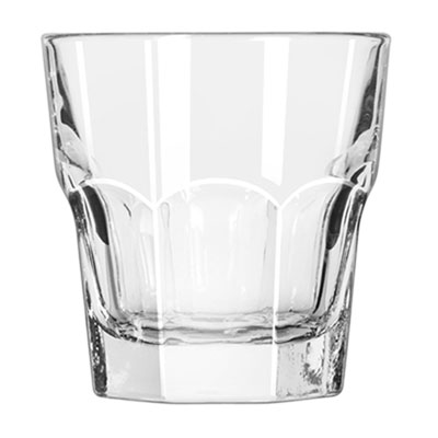 Libbey Gibraltar Rocks Glasses, 7 oz, Clear