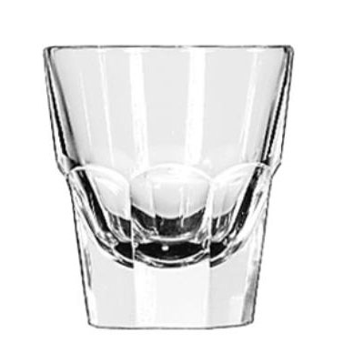 Libbey Gibraltar Rocks Glasses, Rocks, 4.5oz, 3 1/8""