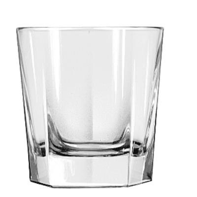 "Libbey Inverness Rocks Glasses, 9oz, 3 1/2"" Tall"