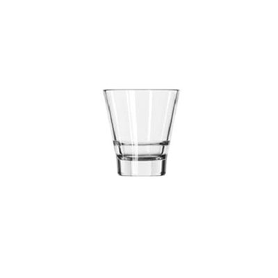 Libbey Endeavor Rocks Glasses, 9 oz, Glass, Clear