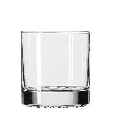 Libbey Nob Hill Glass Tumblers, Old Fashioned,