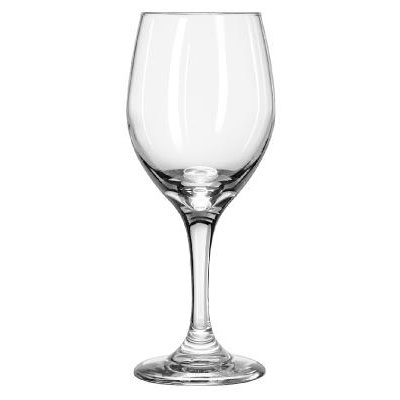 Libbey Perception Glass Stemware, Tall Goblet, 14oz,