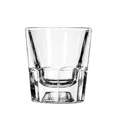 "Libbey Glass Old Fashioned Tumblers, 4oz, 3 1/8"" Tall"