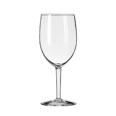 "Libbey Citation Glasses, Goblet, 10oz, 7"" Tall"