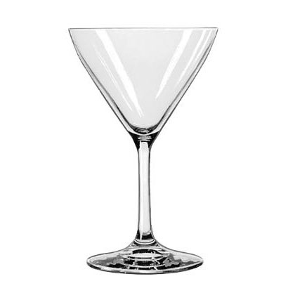 Libbey Bristol Valley Cocktail Glasses, 7.5oz, 6
