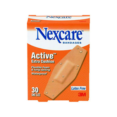 3M Nexcare Active Extra Cushion Flexible Foam