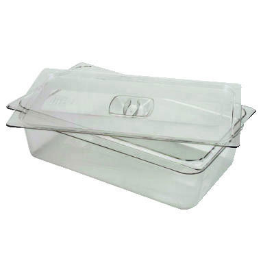 Rubbermaid Commercial Cold Food Pan Covers, 6 3/8w x 6