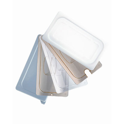 Rubbermaid Commercial Hot Food Pan Covers, 20 4/5w x 12