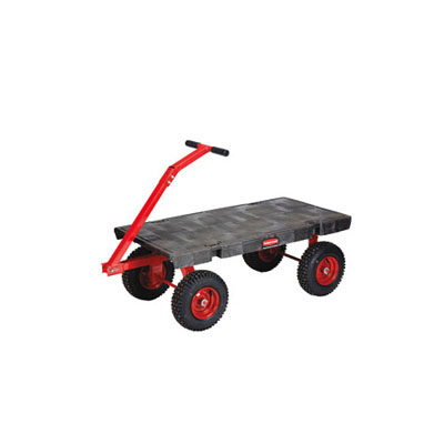 Rubbermaid Commercial 5th-Wheel Wagon Truck,