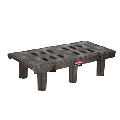 Rubbermaid Commercial Dunnage Rack, 2000 lbs, 48w x 24d x