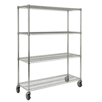 Rubbermaid Commercial Mobile Rack for Prosave Shelf