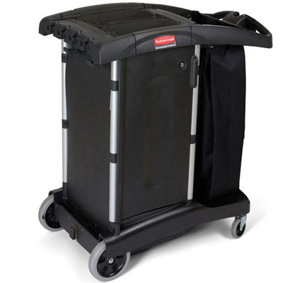 Rubbermaid Commercial Compact Turndown Housekeeping Cart,