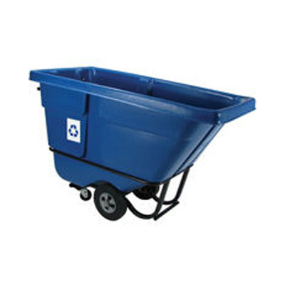 Rubbermaid Commercial Brute Rollout Container, Square,