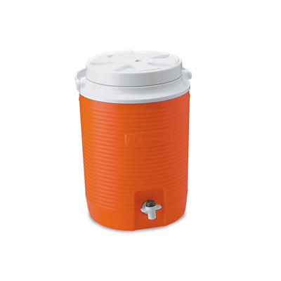 Rubbermaid Victory Jug, 9 3/4dia x 13 1/4h, Orange